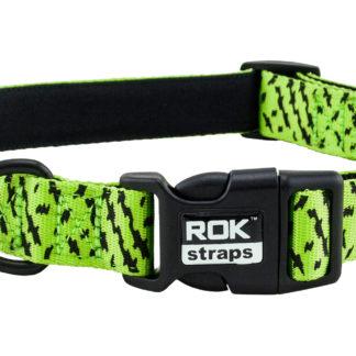 ROK hundhalsband grön