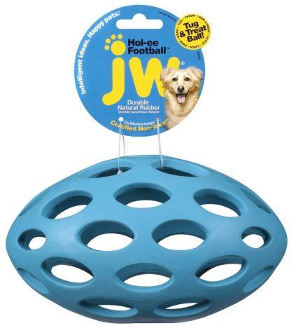 JW Hol-ee nätfotboll blå