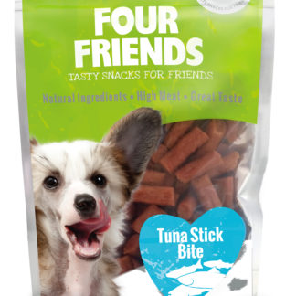 Four Friends tuna sticks bite