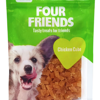 Four Friends chicken cube belöningsgodis