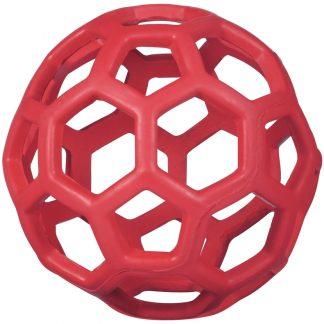 JW Hol-ee nätboll röd