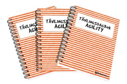 Tävlingsdagbok för agility